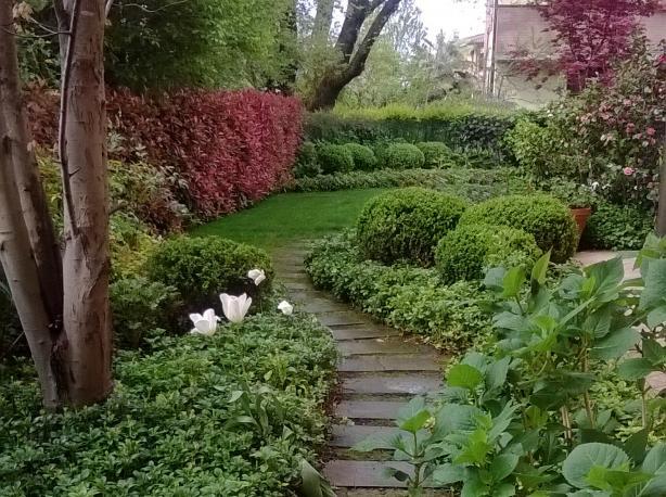 Giardino privato Reggio Emilia