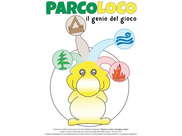 Logo ideato dai bambini delle scuole elementari ParcoLoco Borgo Tossignano