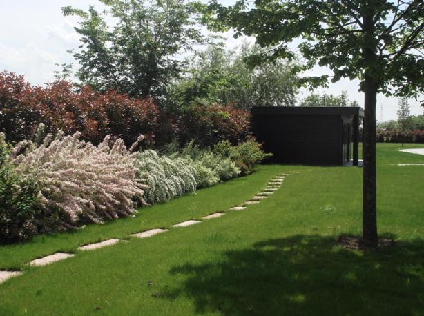 Lorena raspanti architetto paesaggista progettazione - Giardini con piscina foto ...